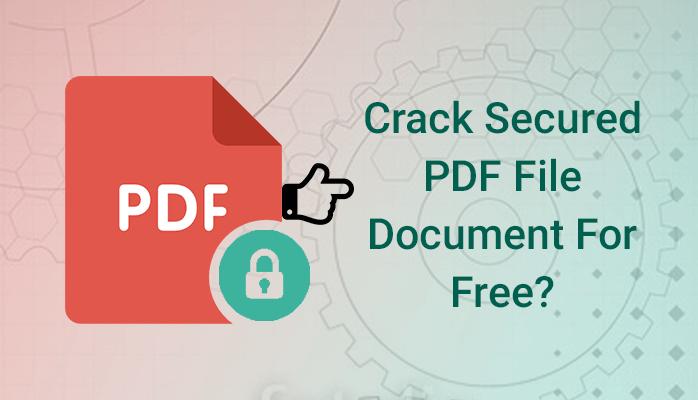 crack secured pdf file