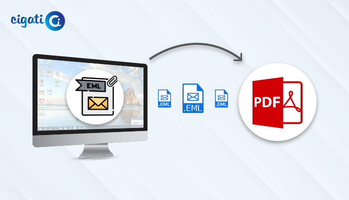Export EML to PDF