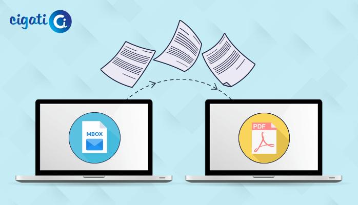 convert mbox file to pdf