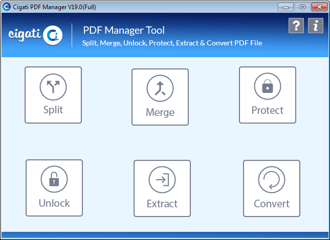 Open Password Protected PDF File without Password