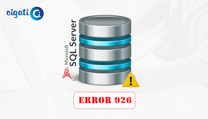 Microsoft SQL Server Error 926 Fixes Here: [Handy Approaches]
