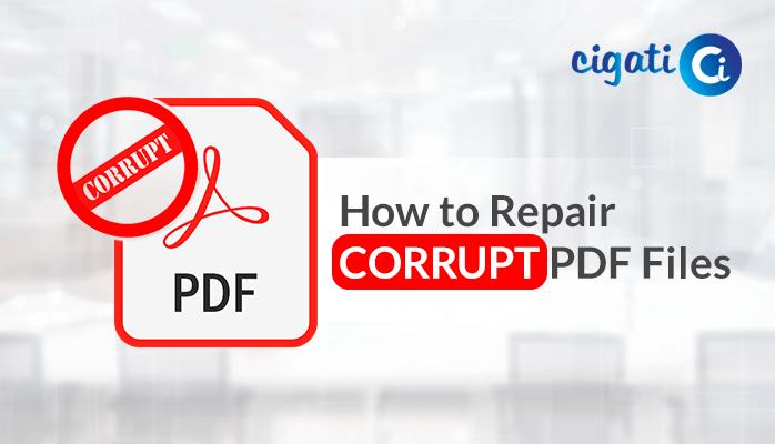 repair corrupt pdf files