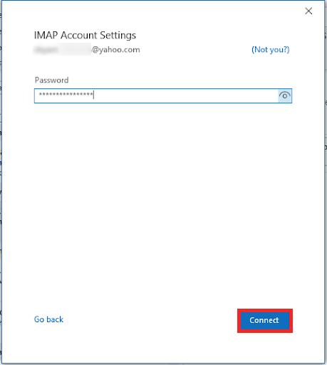 yahoo mail imap settings
