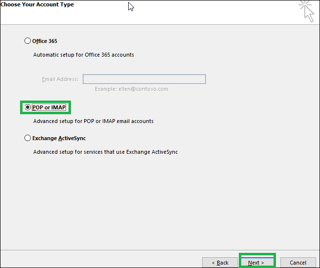 Yahoo Mail to Office 365