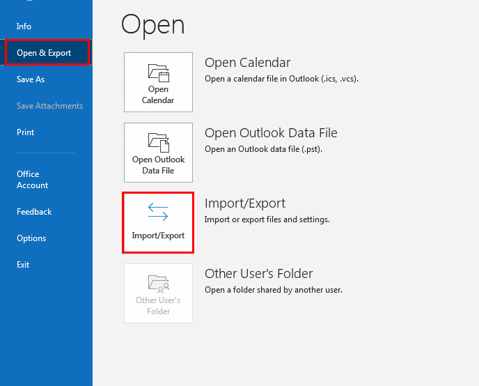 Export Contacts from Office 365 to Outlook