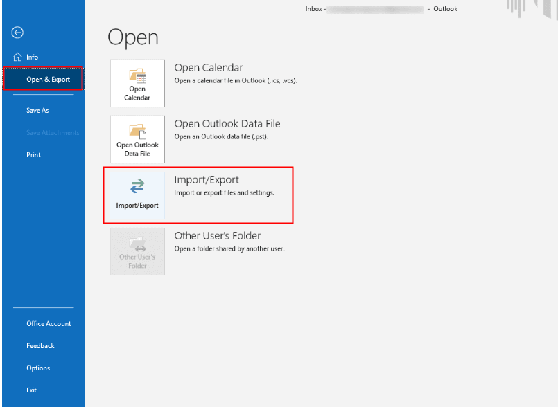 Export Office 365 to Gmail