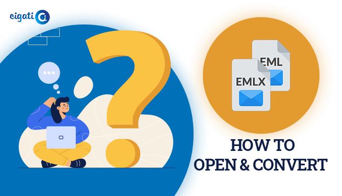 open & convert EMLX and EML files