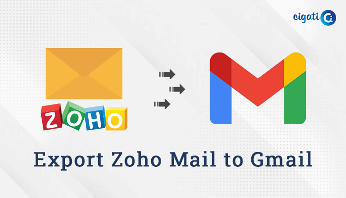 Export Zoho Mail to Gmail