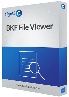 Windows BKF File Viewer Software Box