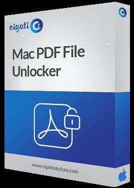 Mac PDF Password Remover Tool Box