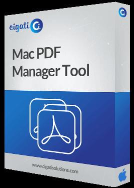 Mac PDF Management Software Box