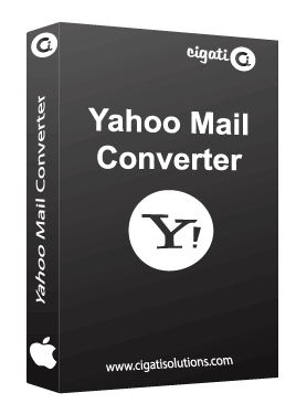 MAC Yahoo Mail Converter Tool Software Box