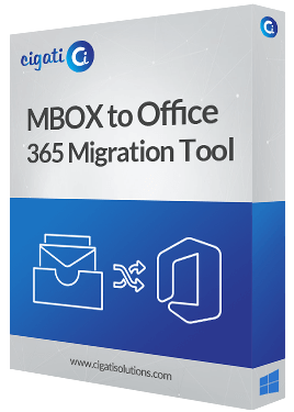 MBOX to Office 365 Migrator Software Box