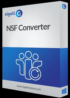 NSF Converter Software Box