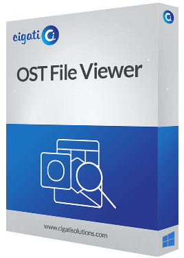 OST File Viewer Software Box