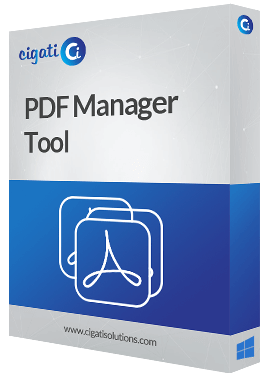 PDF Management Software Box