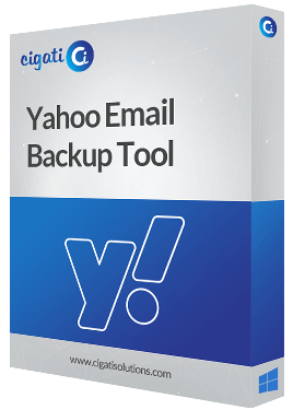 Yahoo Email Backup Tool Software Box