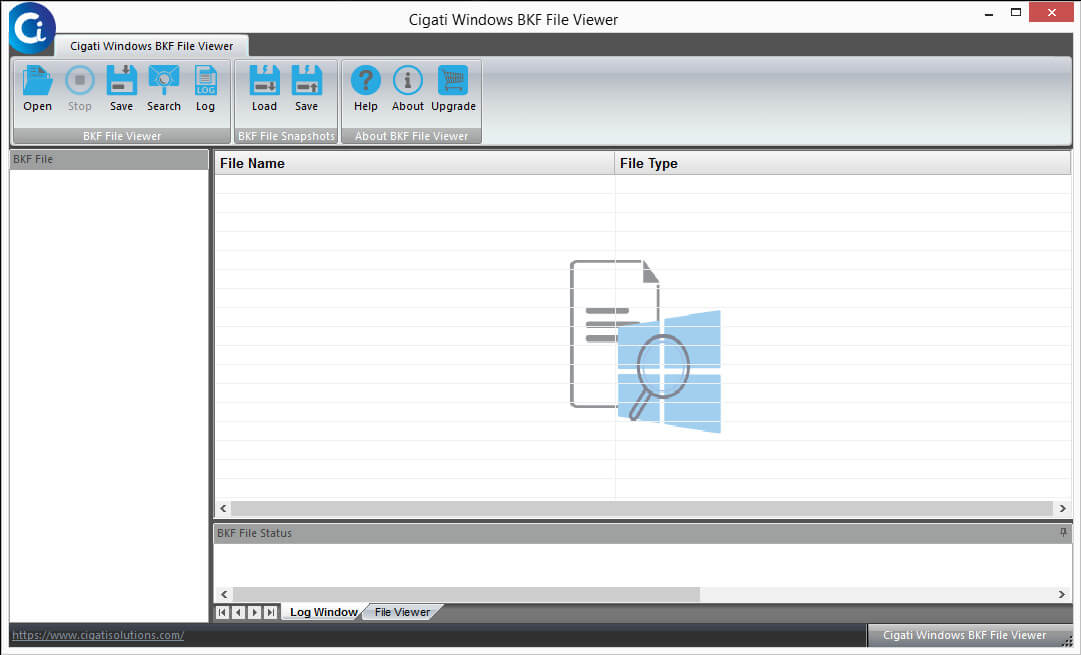BKF File Viewer