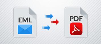 Convert Multiple EML Files to PDF