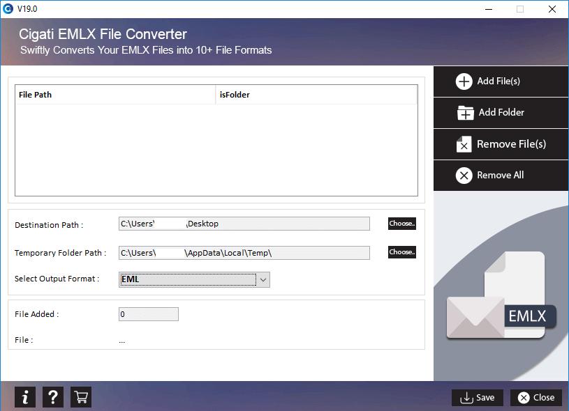 Cigati EMLX Converter