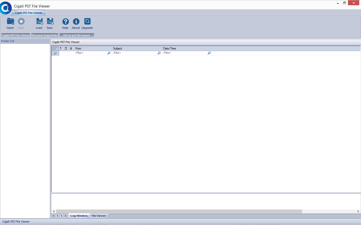 Free PST File Viewer to view or open Outlook emails without