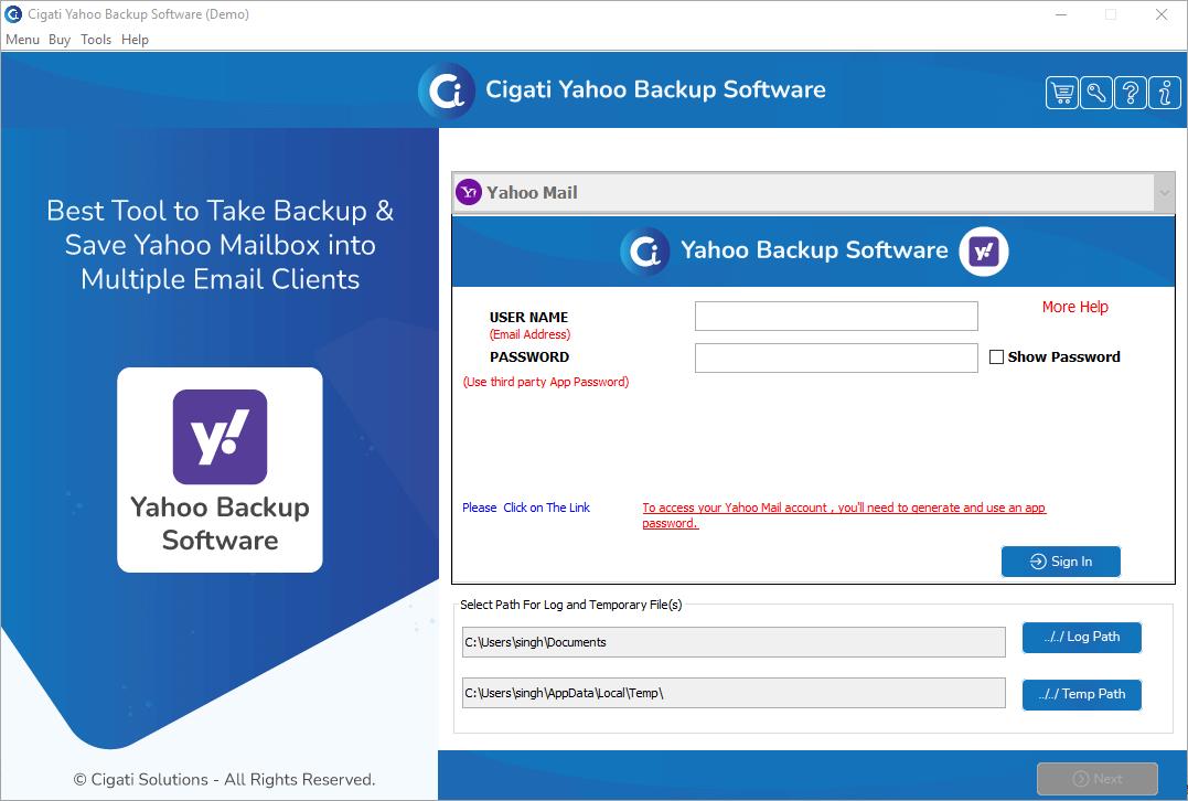 Yahoo Backup Tool, Yahoo Backup Software, Backup Yahoo Mail, Download Yahoo Emails, Yahoo Backup Download, Download Yahoo Email Backup, Download Yahoo Email Archive, Download Emails from Yahoo, Export Yahoo Emails to Computer